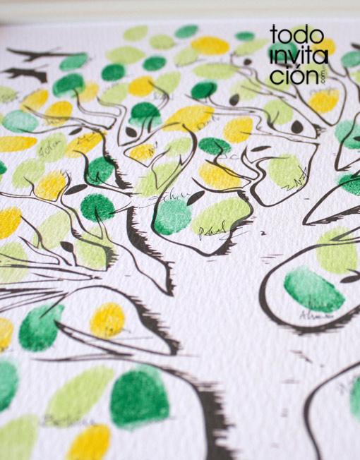 cuadro árbol de huellas bodas 1