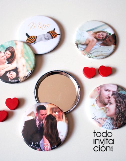 espejos personalziados boda