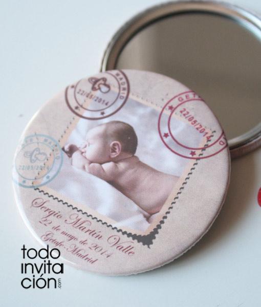 Recuerdos Personalizados Bautizo.Bebe Regalos Para Recien Nacidos Espejos Personalizados