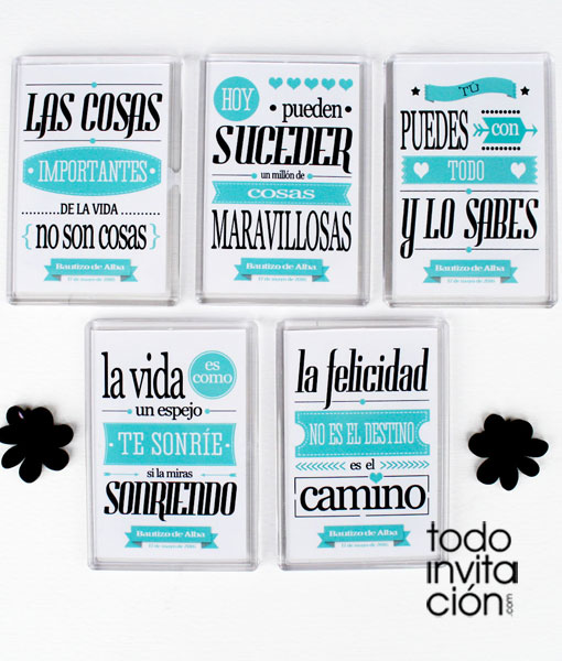 Imanes Con Frases Geniales Bautizo