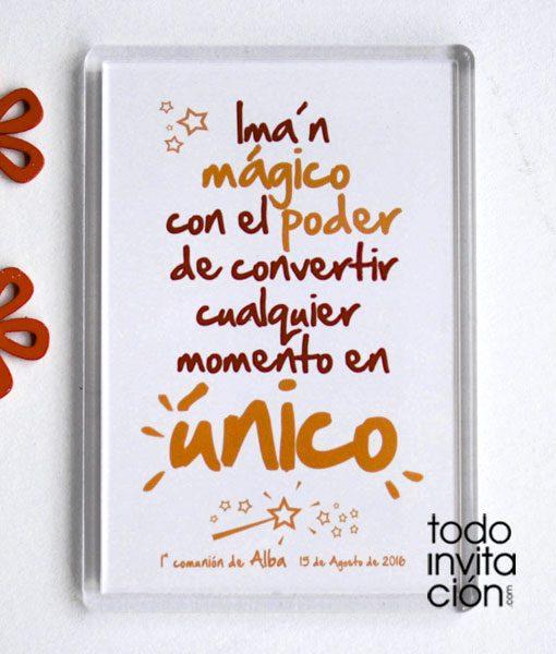 iman frases magicas para comunión