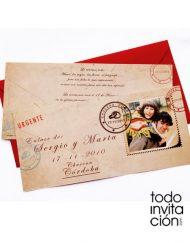 invitacion de boda post