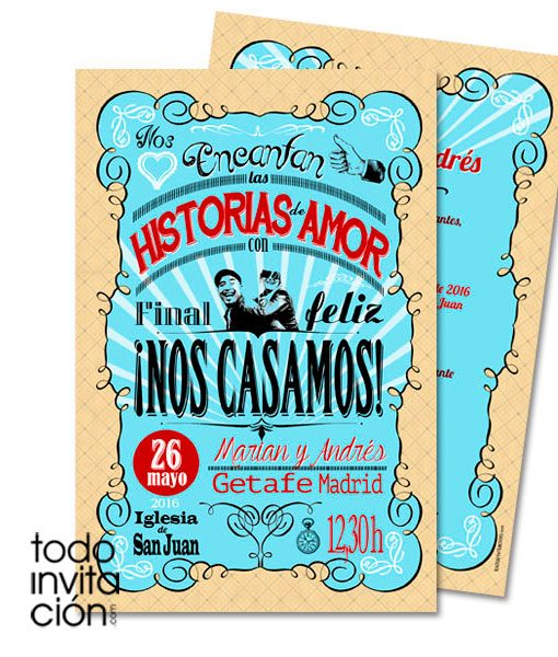invitacion-boda-retro-letters