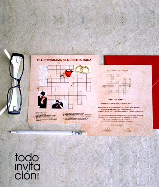 invitacion-de-boda-crucigrama