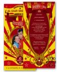 invitacion de boda original gran show
