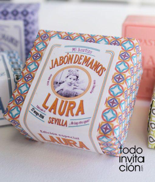 Jabones vintage color bautizo invitaciones y detalles for Detalles bautizo originales