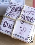 jabones vintage para comunion