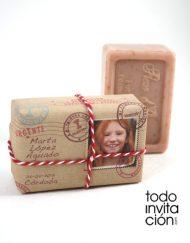 jabón vintage paquete postal comunión