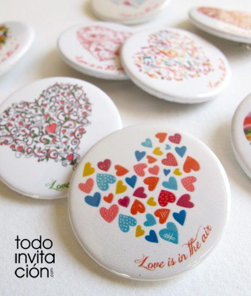 chapas-divertidas-bodas corazones