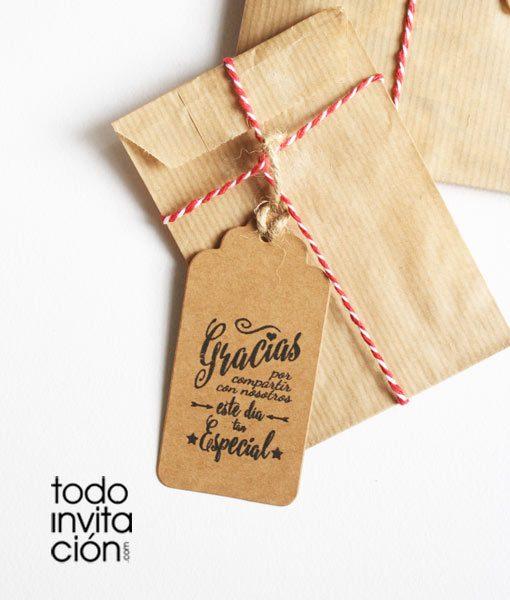 etiquetas kraft para detalles bodas comuniones y bautizos