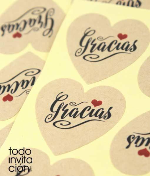 pegatina-corazon-kraft-gracias