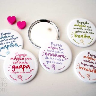 espejos magicos para boda frases
