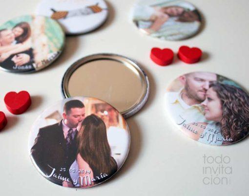 espejos foto boda personalizados