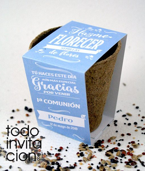 KIT DE SEMILLAS bautizo comunion