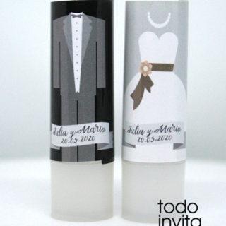 bálsamo labial bodas novio novia