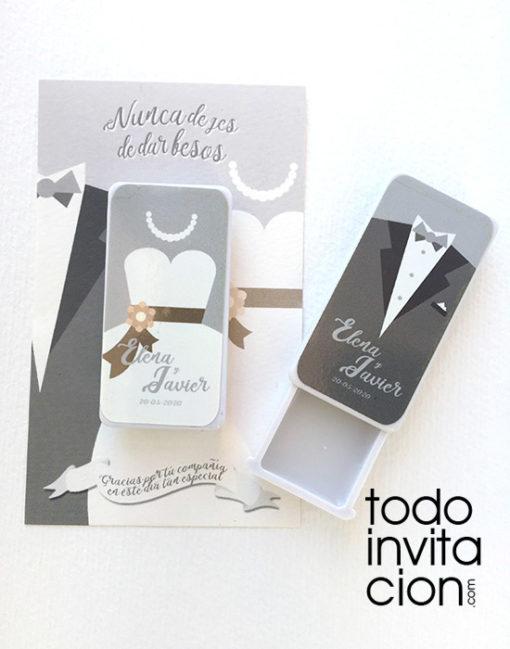 balsamo labios boda