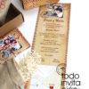 invitacion de boda original paquete postal todoinvitacion