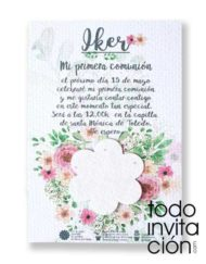 invitacion plantable de semillas