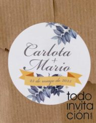 pegatinas personalizadas etiquetas adhesivas reaglos detalles boda bautizo comunion