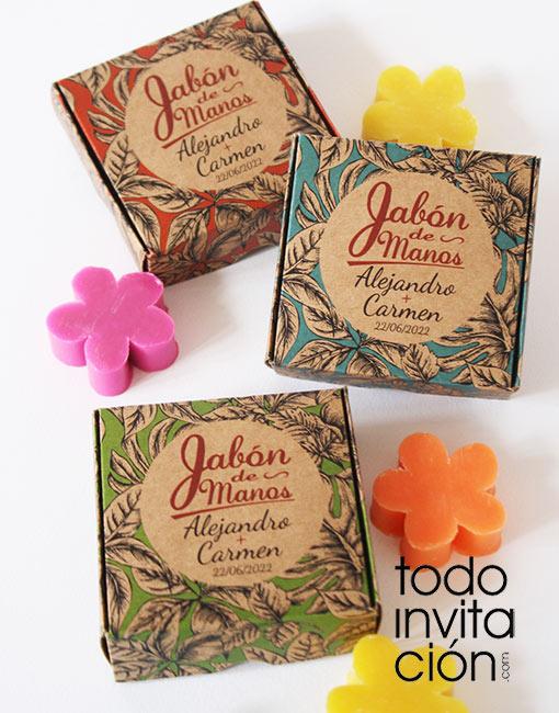 Jabones Artesanales Bautizo.Jabones Kraft Jungle Bautizo Invitaciones Y Detalles Para Invitados Originales