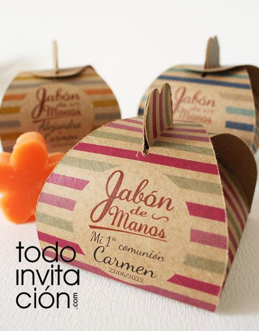 jabon artesanal personalizado