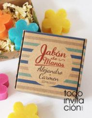 jabon para bodas personalizado