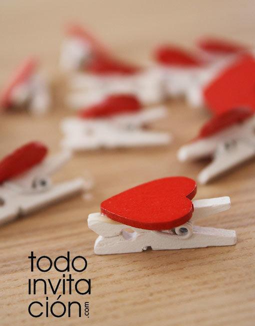mini pinzas de madera regalos