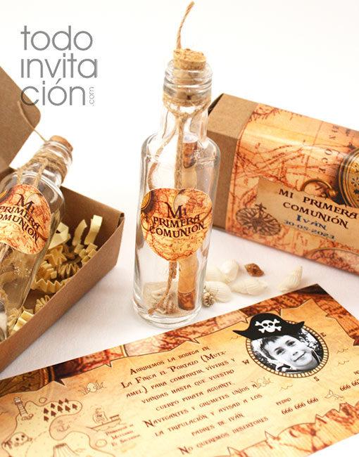 invitación comunión pirata