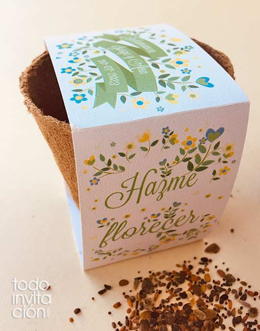 kit semillas boda regalo invitados