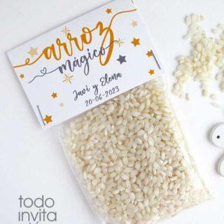 bolsas arroz para bodas