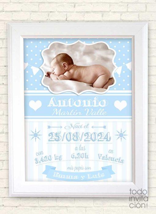 cuadro personalizado nacimientos