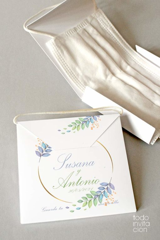 porta mascarillas personalizado bodas