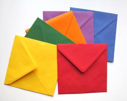 formatos de sobres: